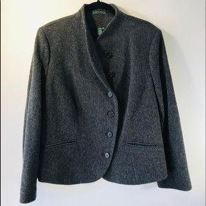 Lauren Ralph Lauren / Tweed Blazer Jacket